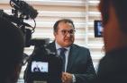 Dados foram apresentados pelo secretário de Estado da Fazenda, George Santoro, durante coletiva de imprensa