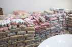 Produtos são distribuídos às 25 instituições cadastradas na campanha Nota Fiscal Cidadã