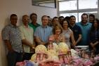 Servidores da Fazenda arrecadaram itens em homenagem ao Dia das Crianças