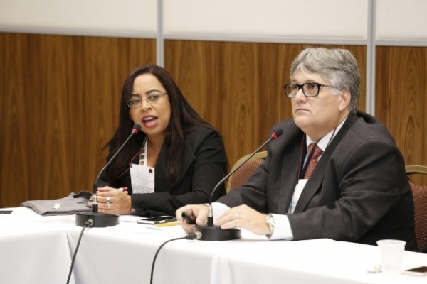 No encontro, o fiscal de Tributos da Sefaz, Alexandre Alcântara, debateu a usabilidade do sistema ContÁgil, software da Receita Federal cedido aos estados